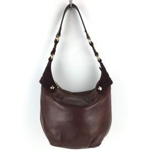 Marc Jacobs All Leather Suede Hobo